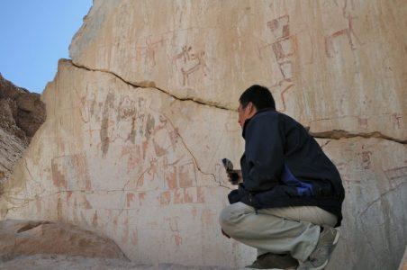 Petroglifos y pictografías de Chillayza-Camiña2